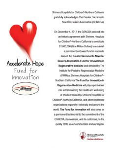 GSNCDA Donation